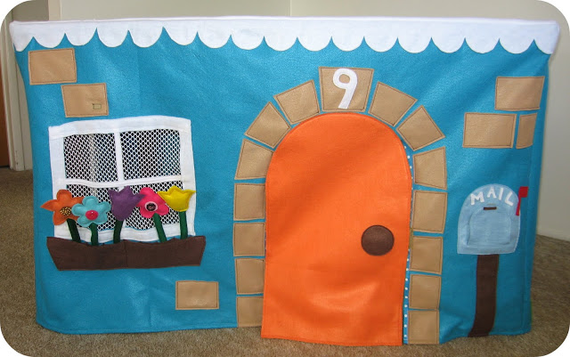 felt playhouse