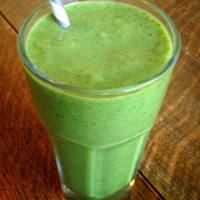 Piña Colada Tropical Green Smoothie