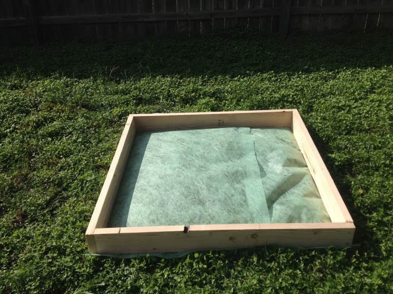 Square Foot Gardening Adventure: Building a 4x4 Square Foot Garden Frame (or Sandbox!)