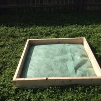 Square Foot Gardening Adventure: Building a 4x4 Square Foot Garden Frame (or Sandbox!)