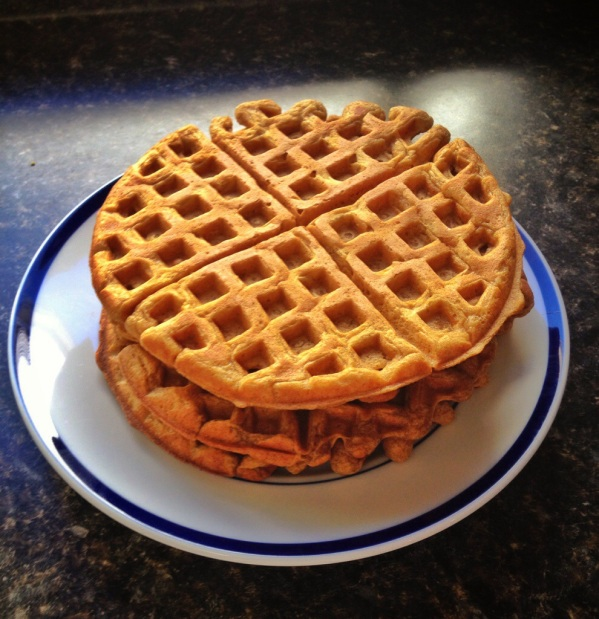 Smitten Kitchen Waffles: Happy Healthy Pumpkin Waffles