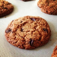 Whole Wheat Chocolate Chunk Cookies (Turbinado and Coconut Sugars)
