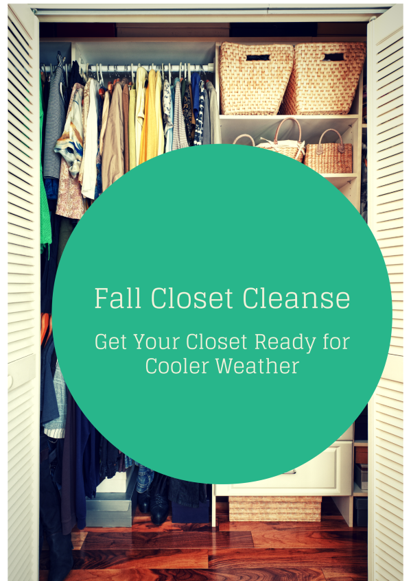 Fall Closet Cleaning