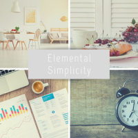 Elemental Simplicity: Finding Your Values in 4 Everyday Moments.